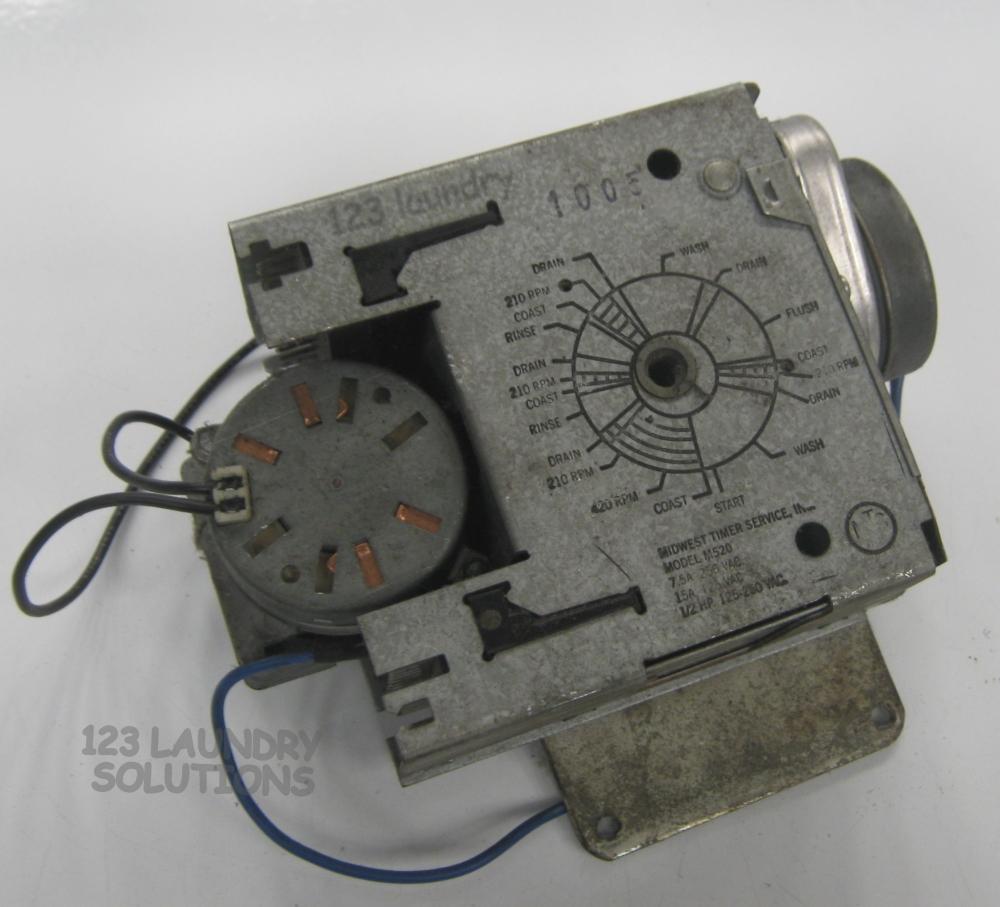 Milnor Washer Parts ~ Milnor front load washer timer t d ebay