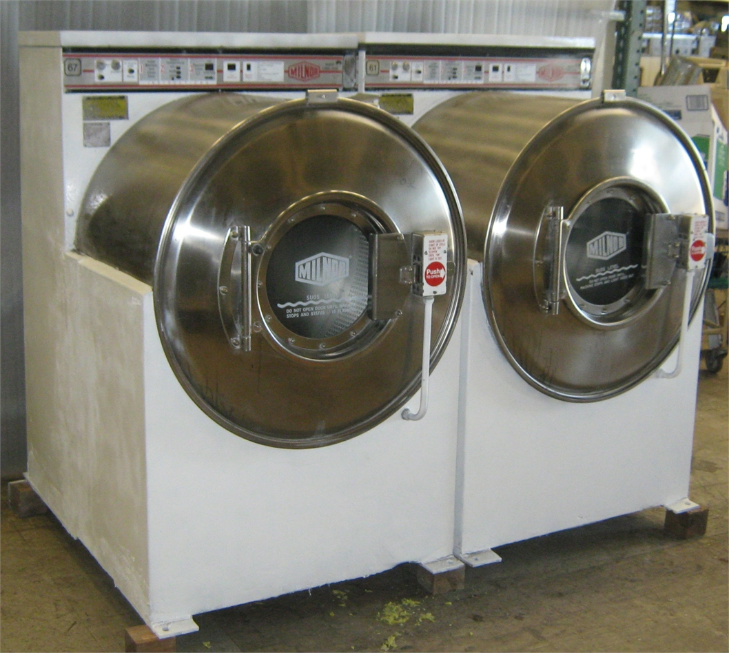 Milnor Washer Machines ~ Milnor front load washer lb c a