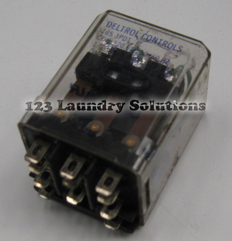 Milnor Washer Parts ~ Milnor front load washer relay v c ddd