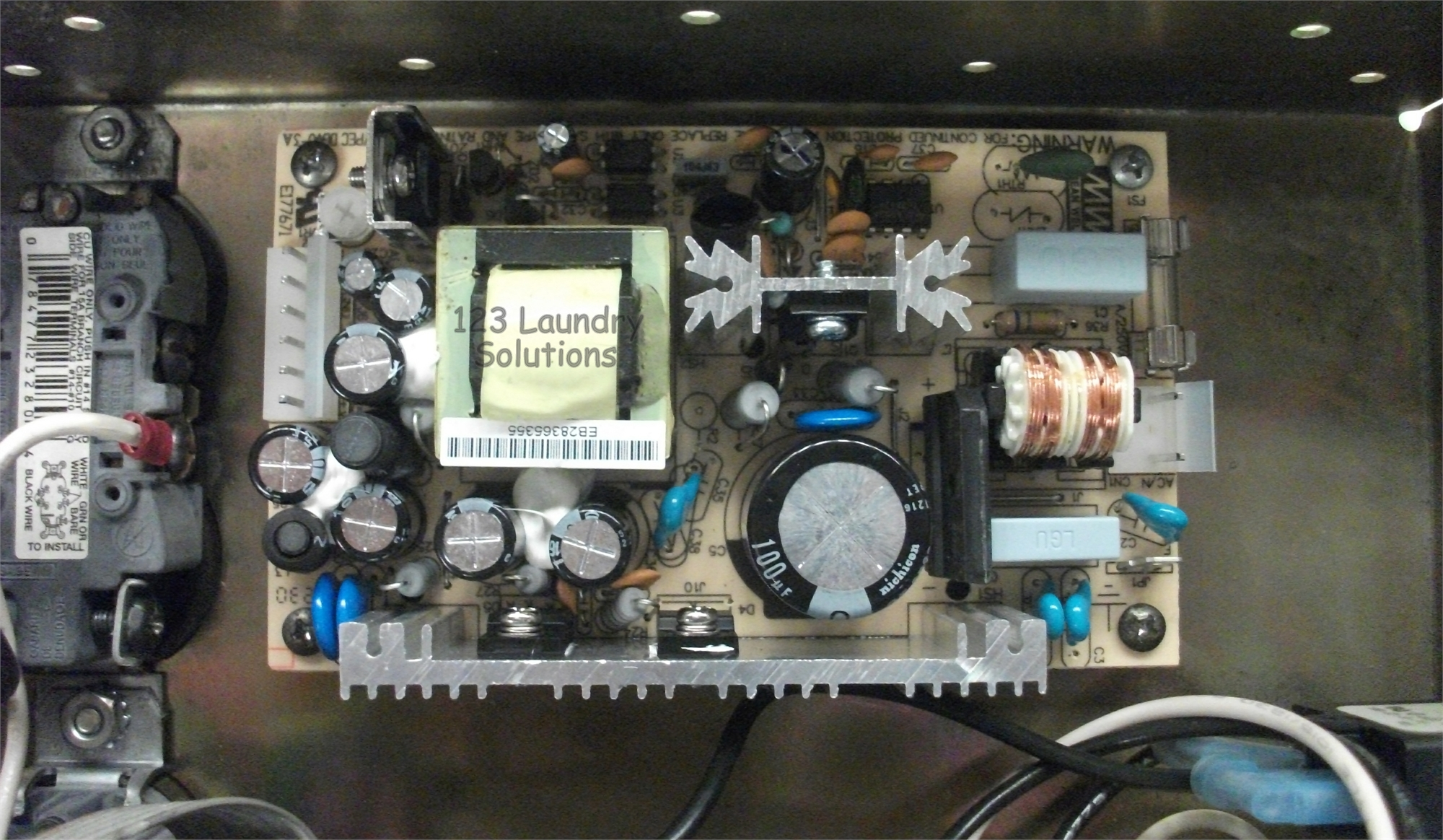 Standard Changemaker Bill Changer Power Supply Board Rpt