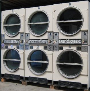 dryers 123laundry com huebsch 30lb stack dryer machines available 8 model jt32dg capacity 30 lb coin boxes on the bottom used in good working condition