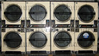 dryers 123laundry com speed queen 30lb stack dryer machines available 10 model st32dg notes almond color coin boxes on the bottom call 888 205 0884 for pricing